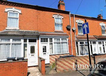 Thumbnail 2 bed terraced house for sale in Nansen Road, Sparkhill, Birmingham