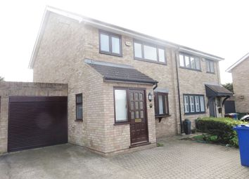 Thumbnail 3 bed semi-detached house to rent in Dartview Close, Grays