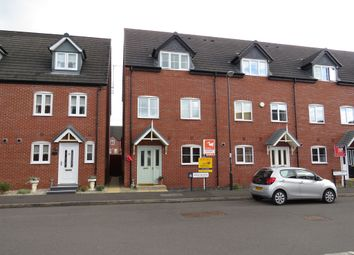 Thumbnail 4 bed end terrace house for sale in Foss Road, Hilton, Derby