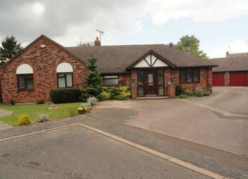 Thumbnail 5 bed detached bungalow for sale in The Paddocks, Whittlesey, Peterborough