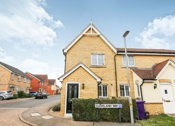 Thumbnail 2 bed terraced house to rent in Cleveland Way, Stevenage