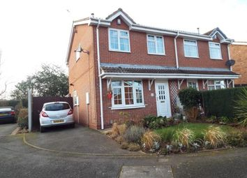 Thumbnail 3 bed semi-detached house for sale in York Drive, Strelley, Nottingham, Nottinghamshire