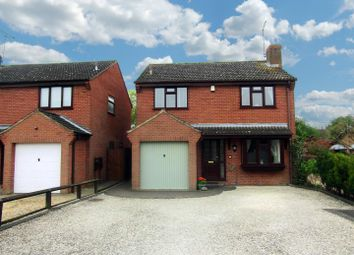 Thumbnail 4 bed detached house for sale in Forrester Close, Cosby, Leicester