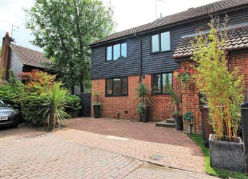 Thumbnail 3 bed end terrace house for sale in Ermine Court, Church Street, Buntingford