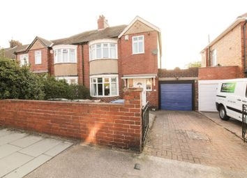 Thumbnail 3 bedroom semi-detached house for sale in Coldstream Road, Newcastle Upon Tyne