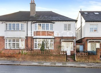 Thumbnail 4 bed semi-detached house for sale in North End Road, London