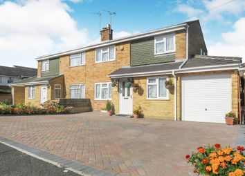 Thumbnail 4 bedroom semi-detached house for sale in Branksome Road, Swindon