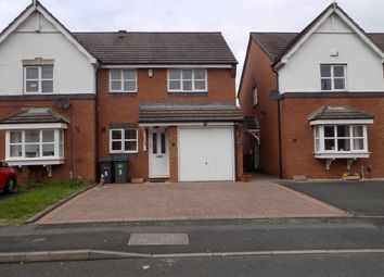 Thumbnail 3 bedroom semi-detached house for sale in Navigation Lane, West Bromwich