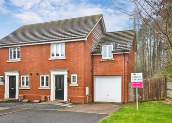 Thumbnail 3 bed semi-detached house for sale in Toftmead Close, Dereham