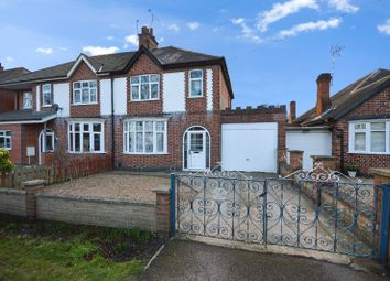 Thumbnail 3 bedroom semi-detached house for sale in Welford Road, Knighton, Leicester