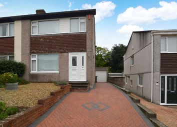 Thumbnail 3 bed semi-detached house for sale in Long Meadow Close, Plymouth, Devon