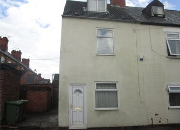 Thumbnail 3 bed end terrace house to rent in Portland Street, Worksop, Nottinghamshire