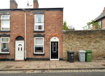 Thumbnail 2 bed end terrace house to rent in Peel Street, Macclesfield, Cheshire