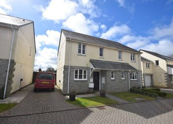 Thumbnail 2 bed semi-detached house for sale in Haydown Close, Churchtown, St. Breward, Bodmin