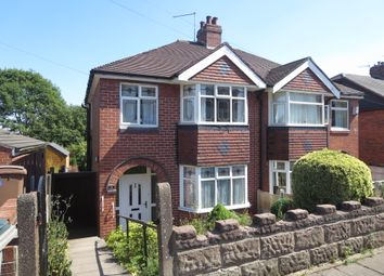 Thumbnail 3 bed semi-detached house for sale in Hunters Way, Penkhull, Stoke-On-Trent