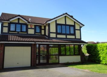 Thumbnail 4 bedroom detached house for sale in Tylney Close, Binley, Coventry
