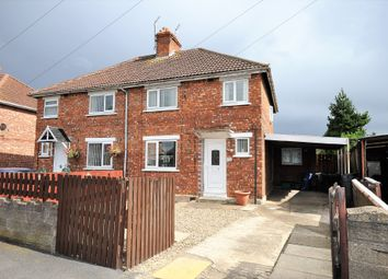 Thumbnail 3 bed semi-detached house for sale in Richmond Road, Moorends, Doncaster