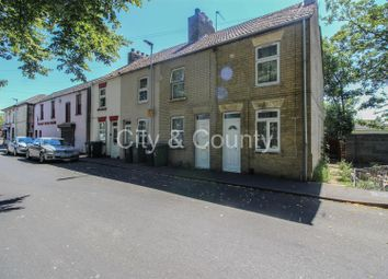 Thumbnail 3 bed terraced house for sale in Occupation Road, Peterborough