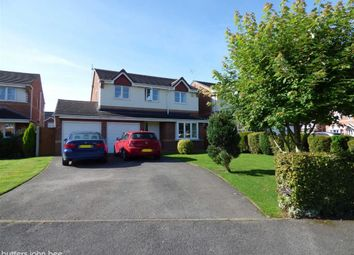 Thumbnail 4 bedroom detached house for sale in Dillors Croft, Leighton, Crewe