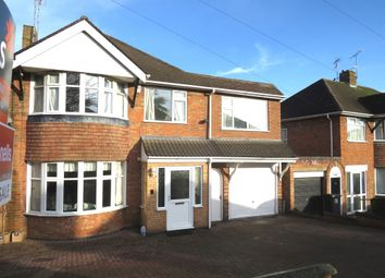 Thumbnail 5 bed detached house for sale in Valentine Road, Leicester