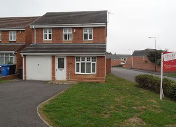 Thumbnail 3 bed detached house to rent in Grangeover Way, Derby