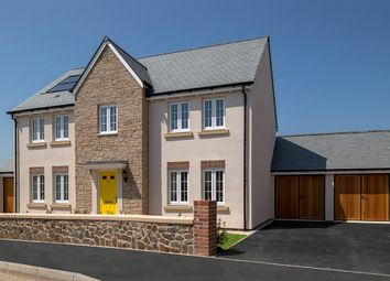 "Thumbnail 4 bed detached house for sale in ""The Harriett"" at Parade Avenue, Fremington, Barnstaple"