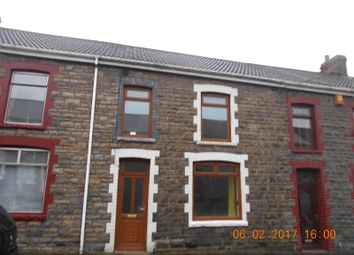 Thumbnail 3 bedroom terraced house to rent in Victoria Street, Caerau, Maesteg
