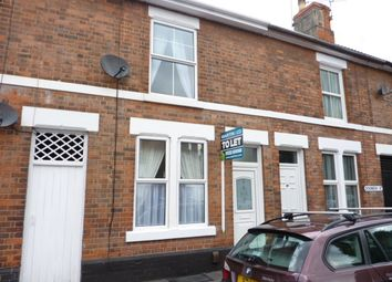 Thumbnail 2 bed terraced house to rent in Dickinson Street, Derby