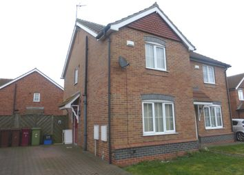 Thumbnail 2 bedroom semi-detached house for sale in Ennerdale Lane, Scunthorpe