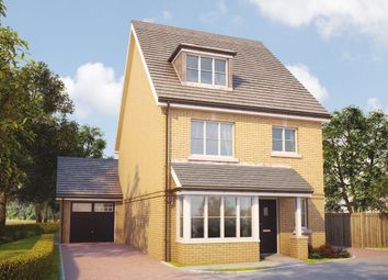 Thumbnail 4 bed detached house for sale in Oak Tree Road, Knaphill, Woking