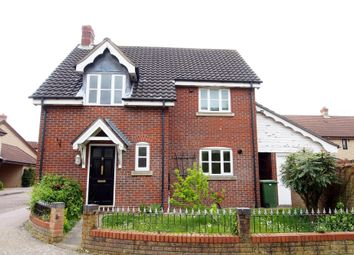 Thumbnail 3 bedroom detached house to rent in Hazel Close, Wymondham, Norfolk