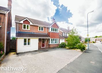 Thumbnail 6 bed detached house for sale in Wentwood Road, Caerleon, Newport