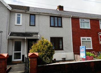 Thumbnail 3 bedroom terraced house for sale in Faraday Road, Clydach, Swansea.
