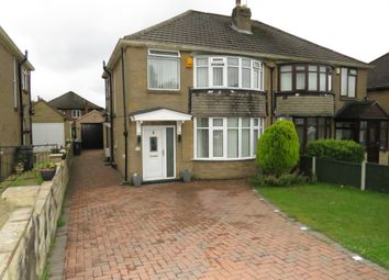 Thumbnail 3 bed semi-detached house for sale in Carr Manor Avenue, Leeds