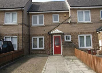 Thumbnail 2 bed terraced house to rent in Gill Avenue, Wainscott, Rochester