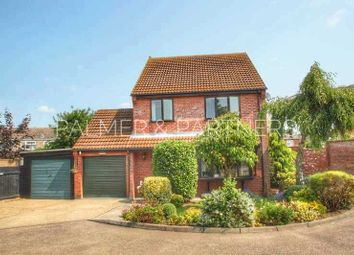 Thumbnail 4 bed detached house for sale in First Avenue, Glemsford, Sudbury