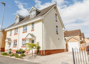 Thumbnail 3 bed semi-detached house for sale in Goodman Drive, Leighton Buzzard, Central Bedfordshire