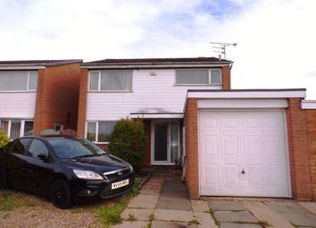 Thumbnail 3 bed detached house for sale in Manor Road, Fleckney, Leicester, Leicestershire