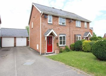 Thumbnail 2 bed semi-detached house for sale in 26, Maes Y Celyn, Guilsfield, Welshpool, Powys