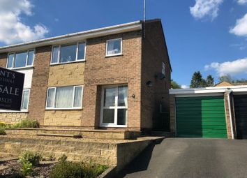 Thumbnail 3 bedroom semi-detached house for sale in Megdale, Matlock