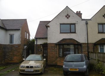 Thumbnail 3 bed semi-detached house for sale in 352 Osmaston Park Road, Derby, Derbyshire
