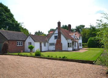 Thumbnail 4 bedroom detached house for sale in Main Road, Wormingford, Colchester
