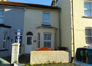 Thumbnail 2 bed terraced house for sale in Shakespeare Road, Gillingham, Kent.