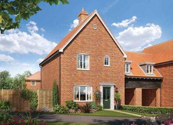 Thumbnail 3 bed link-detached house for sale in Station Road, Framlingham, Suffolk