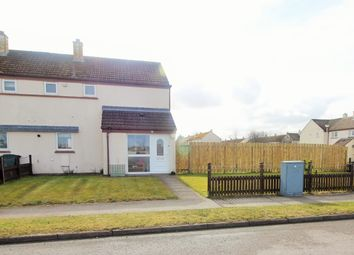 Thumbnail 2 bed end terrace house for sale in North Road, Kinloss, Forres