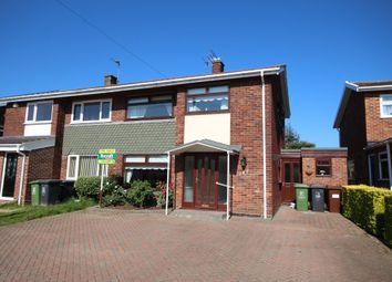Thumbnail 3 bed semi-detached house for sale in Brasenose Avenue, Gorleston, Great Yarmouth