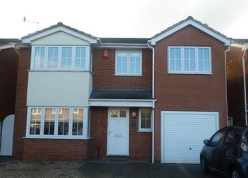 Thumbnail 5 bed detached house to rent in Squirrel Close, Narborough, Leicester