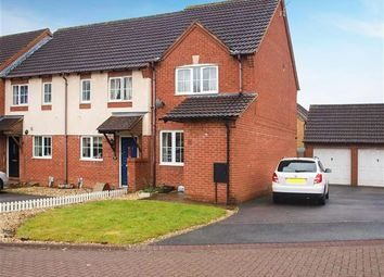 Thumbnail 2 bedroom end terrace house for sale in Dales Close, Blunsdon St Andrew, Swindon