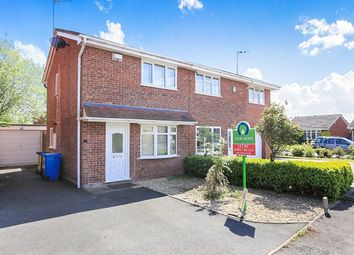 Thumbnail 2 bed semi-detached house to rent in Mere Oak Road, Wolverhampton