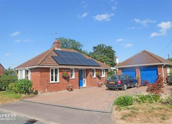 Thumbnail 4 bed detached bungalow for sale in Willow Green, Worlingworth, Woodbridge, Suffolk